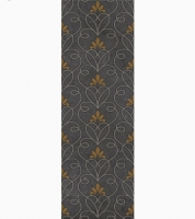 Декор Gracia Ceramica Silvia black decor 02 900х300