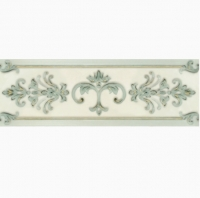Бордюр Gracia Ceramica Visconti turquoise border 02 250х85